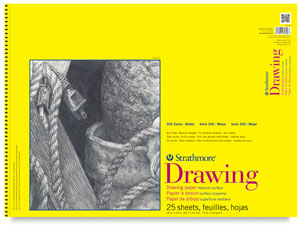 Drawing Pad, 25 Sheets Wire Bound