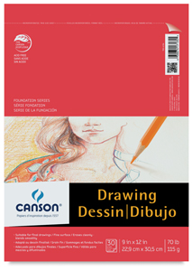 Drawing Pad, 30 Sheets