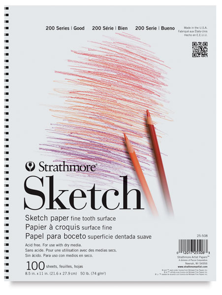 Strathmore 200 Series Sketch Pads - BLICK Art Materials