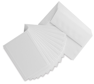 Photo Mount Cards, Pkg of 10, Classic Emboss
