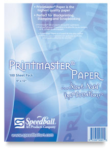 Speedball Printmaster Paper Pads for Block Printing