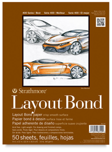 Layout Bond Pad, 9&quot; &amp;times; 12&quot;
