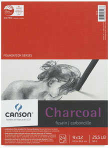 Charcoal Pad, 24 Sheets