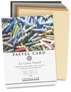 Pastel Card Pad