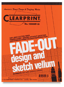 Vellum, 50 Sheet Pad