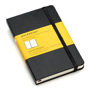 "Pocket Notebook, 192 Pages, Gridded (3/16"")"