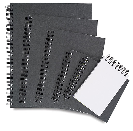 Black Sketchbooks
