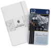 Pentalic Illustrator&#39;s Sketchbook &amp;amp; Drawing Pencil Set Value Pack