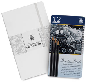 Sketchbook &amp;amp; Drawing Pencil Set Value Pack