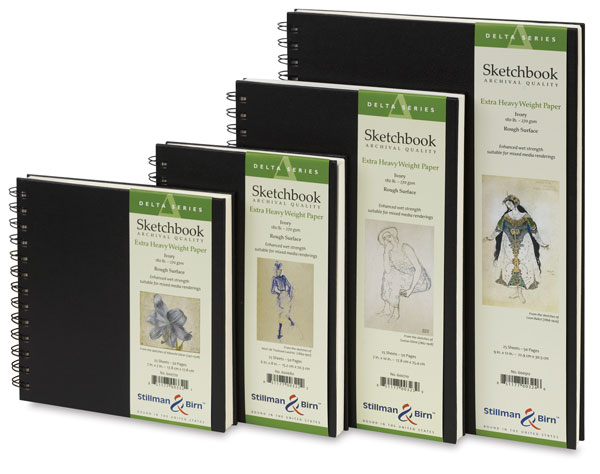 Delta Series Sketchbooks