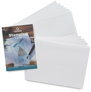 Stamp Cards with Env, Pkg of 6 Stamping