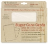 Sugar Cane Cards and Envelopes, Box of 10 Smooth, Ivory