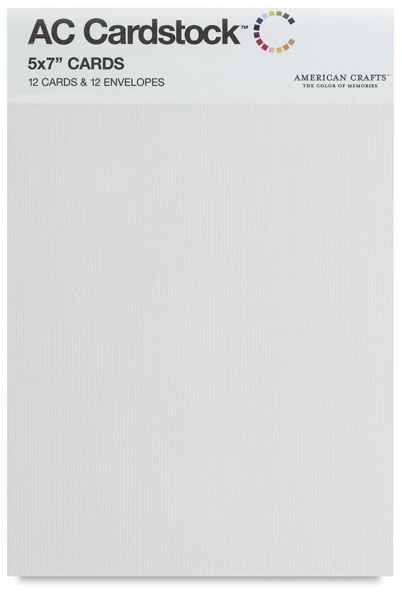 Blank Cards and Envelopes, White