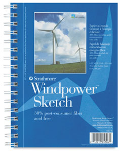 "Spiral Bound Sketch Pad, 6¼"" × 8½"""