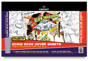 Comic Book Cover Sheets, 12 sheets