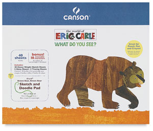 Brown Bear, Brown Bear Activity Pad, 17&quot; &amp;times; 14&quot;