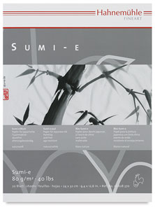 Sumi-e Paper, 20 Sheet Pad