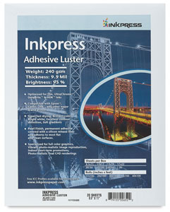 Inkpress Adhesive Luster, Pkg of 20  NEW! 