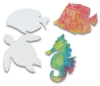 Sealife Shapes, Pkg of 48