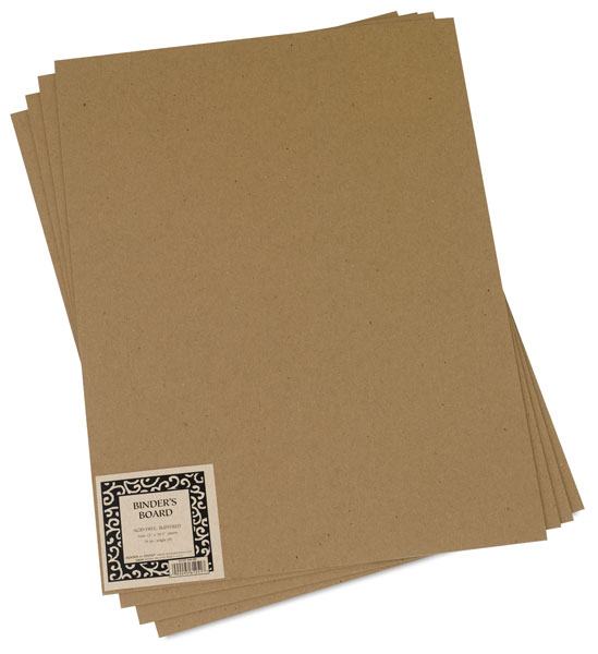 Binder's Board, Pack of 4