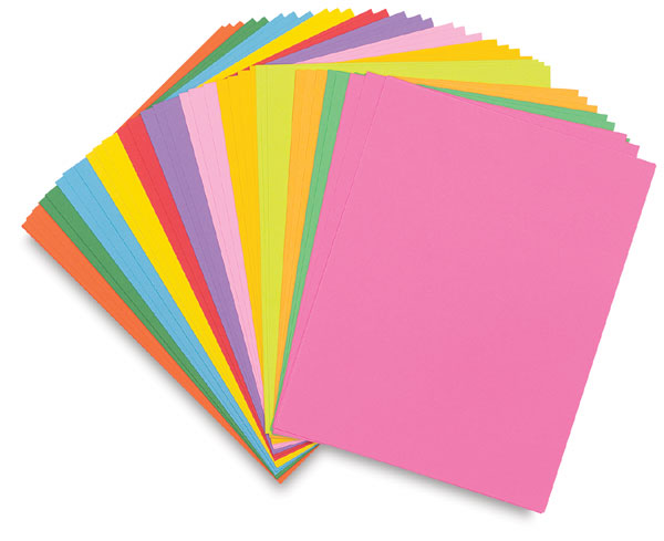... paper changes colors to reflect whether it is more acidic or basic