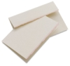 Announcement, Box of 10 (White/Blush)
