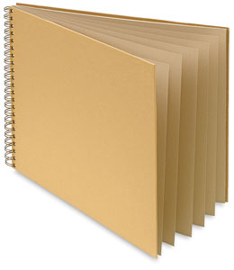 Brown Kraft Cover with Oatmeal Pages