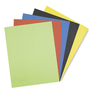 Assorted Posterboard, Pkg of 50