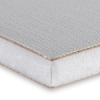 Triple-Primed Cotton Canvas on Gatorboard, 1/2&quot; Thick, Corner Detail