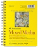 Mixed Media Pad, 5&frac12;&quot; &times; 8&frac12;&quot;