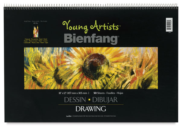 "Young Artists 18"" × 12"", 50 Sheets"
