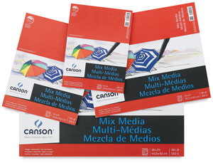 Canson Foundation Mixed Media Pads