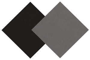 Gray and Black Presentation Board (showing both sides)