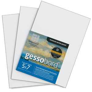 Gessobord, 1/8&quot; Thick, 5&amp;quot; &amp;times; 7&amp;quot; (3 pack)