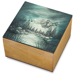 Sample Artwork,  5&quot; &amp;times; 5&quot; Box 