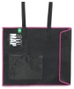 "BIYOMAP Art Protection Case, 20"" x 23"" w/ Pink Border, handles attached"