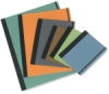 Left to Right: Teal (No Longer Available), Pumpkin, Gray, Bark, Fern, and Cadet Blue