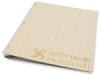 Example of Laser Etching on Bamboo Natural
