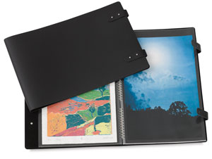 Presentation Book, Double Tab Closure