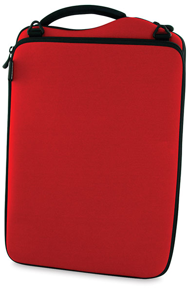 Neoprene Netbook Case, Red