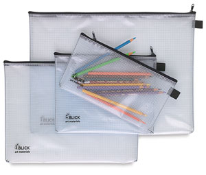 Blick Mesh Zipper Bags