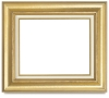 Gold with Gold Foil Frame