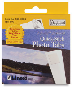Infinity Photo Tabs, Pkg of 500