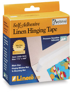 Self-Adhesive Linen Hinging Tape