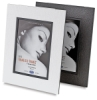 White/Black Linen and Black/Black Textured Frames