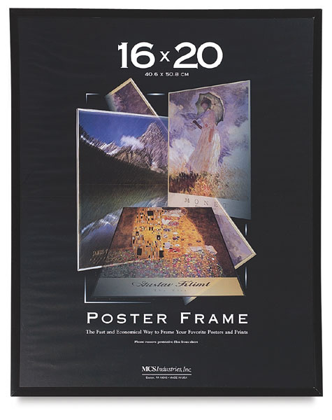 Large movie posters framed