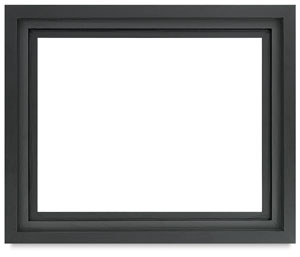 Floater Frame, Black, 1-1/2&quot; Depth