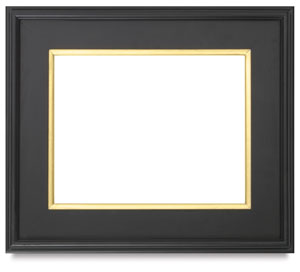 Blick Simplon Plein Air Frames with Liners, Black w/ Gold, 8&quot x 10&quot