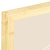 Corner Detail, Light Bamboo Frame