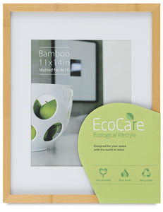 EcoCare Frame, Natural Bamboo